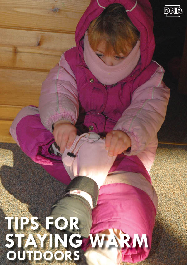 Tips for dressing for winter recreation from the Iowa DNR
