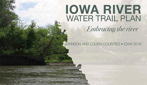 iowa river water trail plan