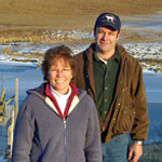 Landowners can use conservation practices to protect water quality.