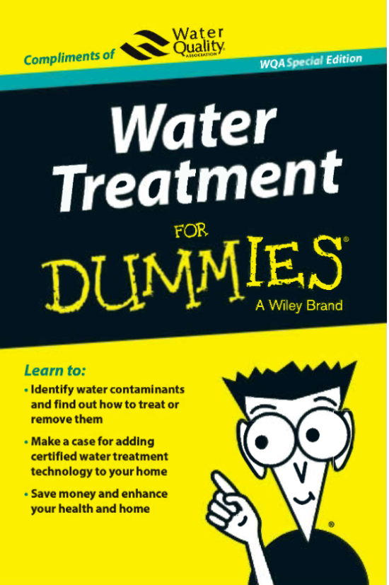 Water Treatment Guidance from the Water Quality Associations.