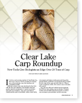 Clear Lake Carp Roundup