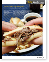 Venison French Dip