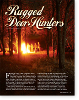 Rugged Deer Hunters