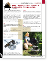 Dutch Oven Holder