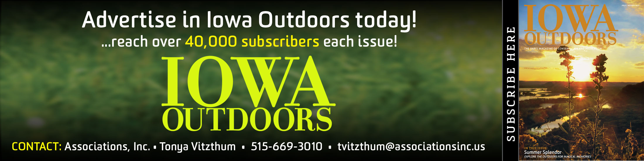 Iowa Outdoors Magazine, Advertising