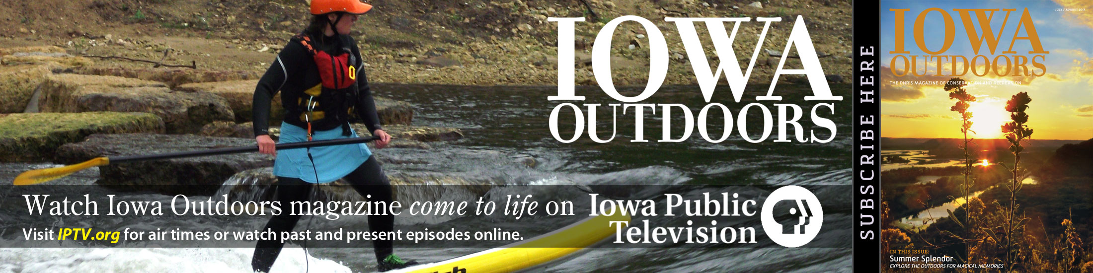 Iowa Outdoors Magazine, IPTV TV Show