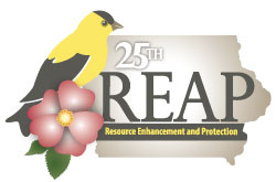 REAP 25th Anniversary Logo