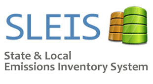 SLEIS Logo (Report your emissions data to DNR using the SLEIS database)