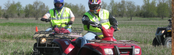 ATV Riders, please ride safely