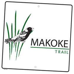 Makoke Trail Sign