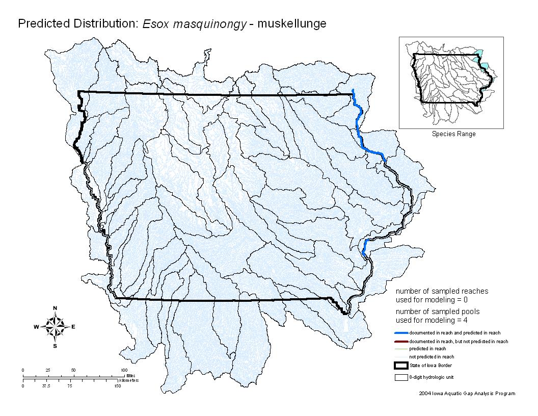 Muskellunge Distribution