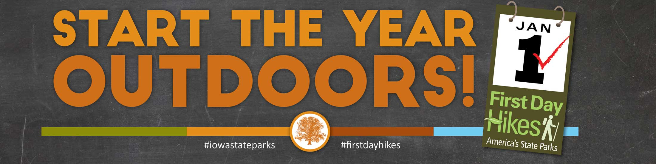 First Day Hikes, get Outdoors on January 1st!