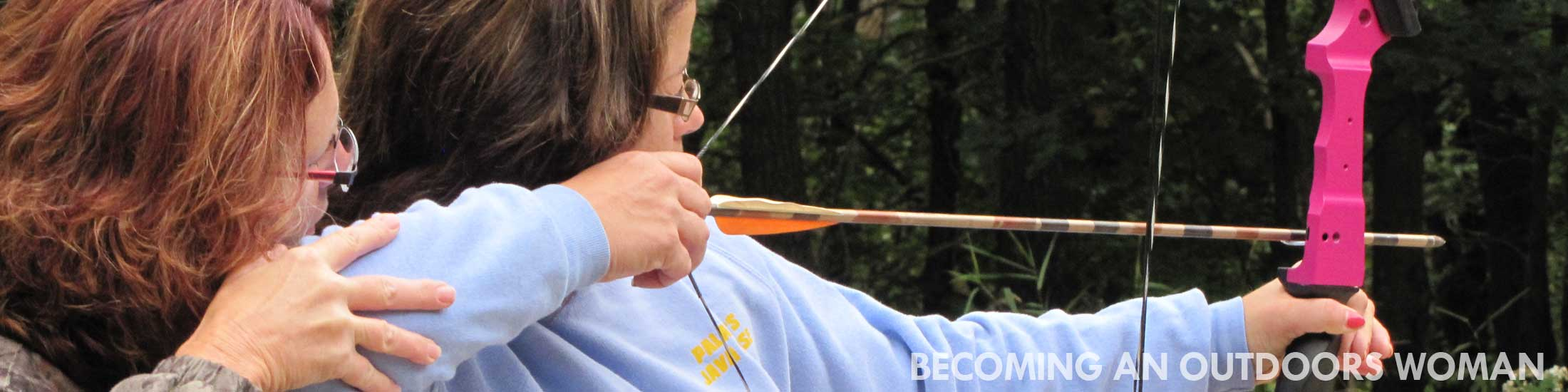 Archery, Becoming an Outdoors Woman workshop