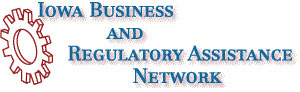 Iowa Business and Regulatory Assistance Network Logo