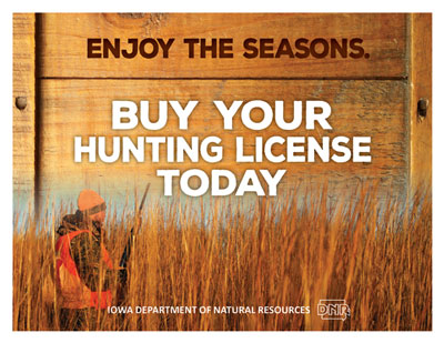 License vendors iowa dnr for Sc dnr fishing license