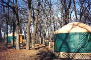 Yurts at McIntosh Woods