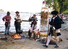 Lewis and Clark Rendezvous participants