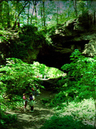 Natural Bridge at Maquoketa Caves State Park