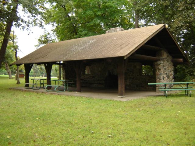 Rice Lake shelter