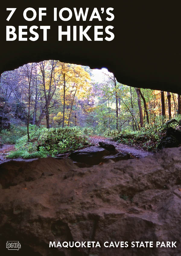 Maquoketa Caves State Park - one of Iowa's best hikes | Iowa DNR