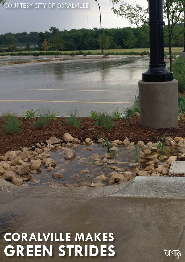 Coralville, Iowa is making big strides in improving water quality through stormwater management | Iowa DNR
