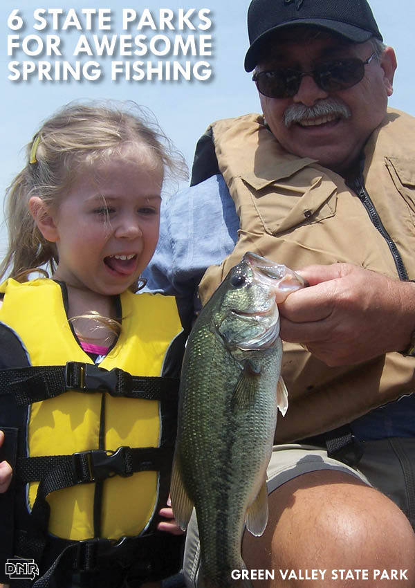 6 Iowa State Parks for Awesome Spring Fishing - includes Green Valley! | Iowa DNR