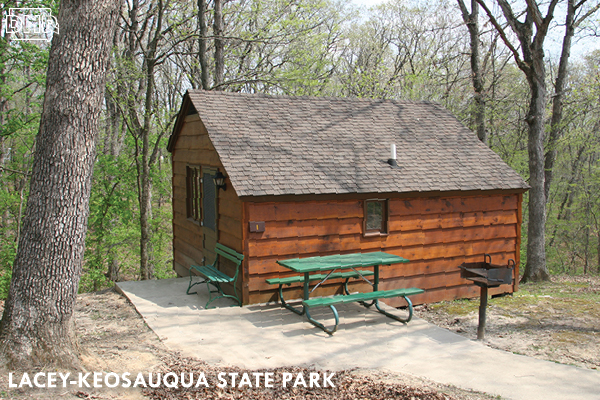 Reserve a cozy cabin at Lacey-Keosauqua State Park | Iowa DNR