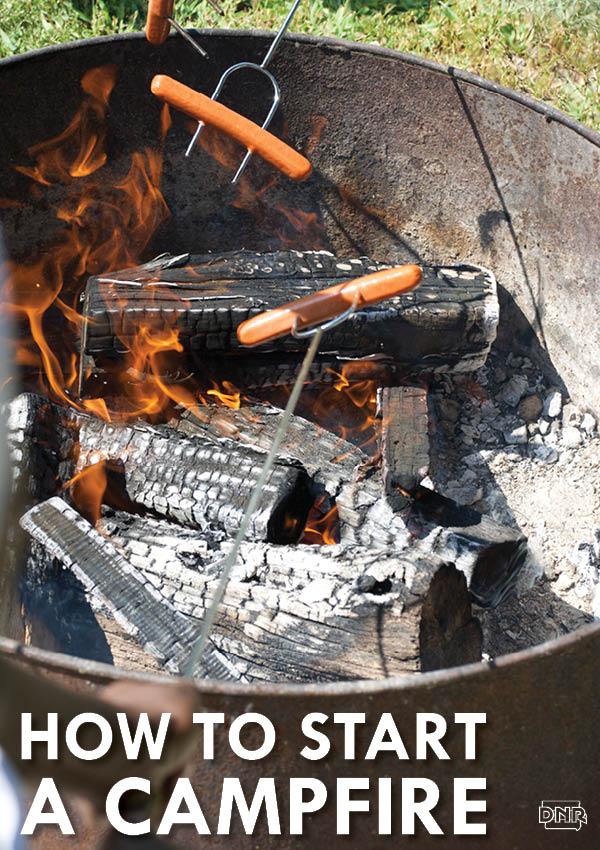How to build a campfire [tutorial] | Iowa DNR