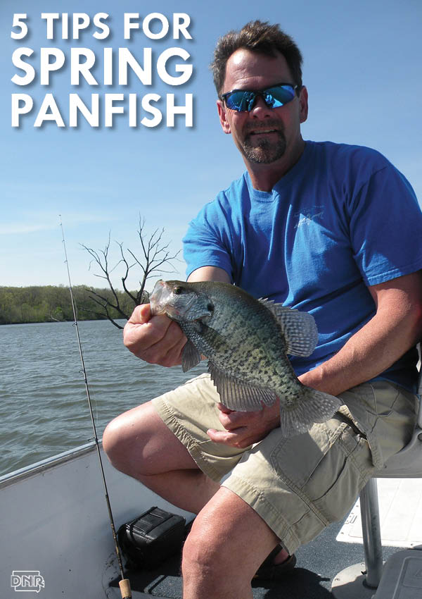 5 awesome tips for spring panfish angling | Iowa DNR