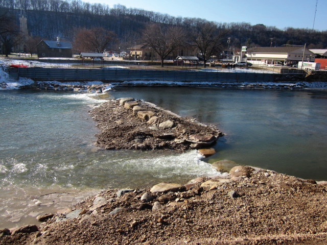 Elkader Whitewater Feature