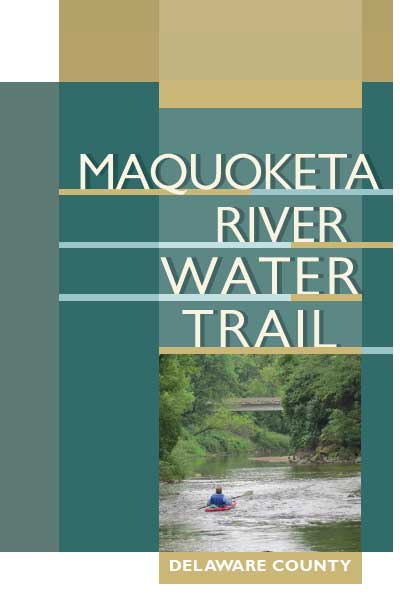 Maquoketa River Water Trail brochure