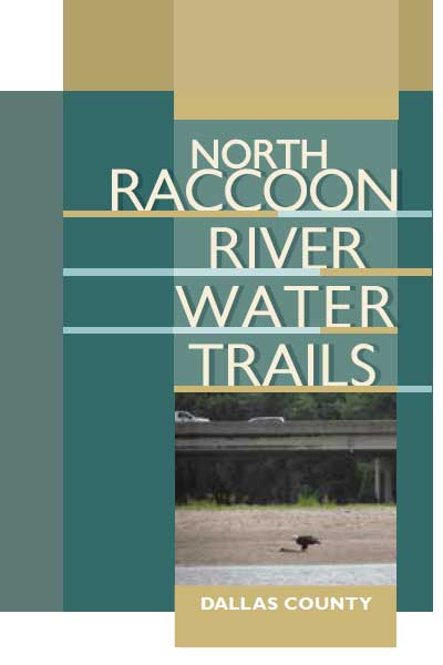 North Racoon Dallas County River Water Trail brochure