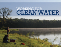 Cover for 2012 Working for Clean Water booklet