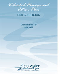 The DNR's guidebook can help you put together a Watershed Management Plan.