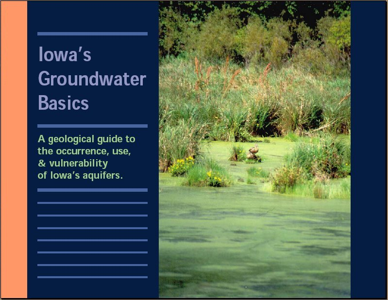 Image of Iowa Groundwater Basics