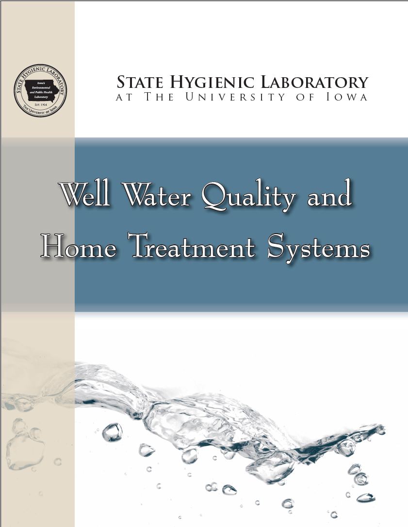 State Hygienic Lab Well Water Quality and Home Treatment Systems Booklet image