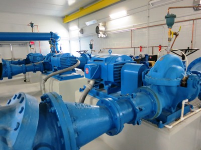 Pumps and piping