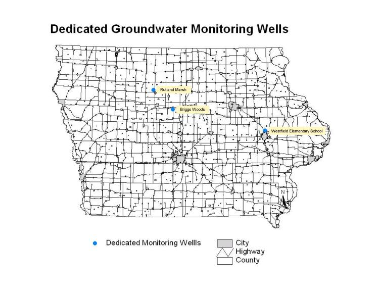 Dedicated Well Map