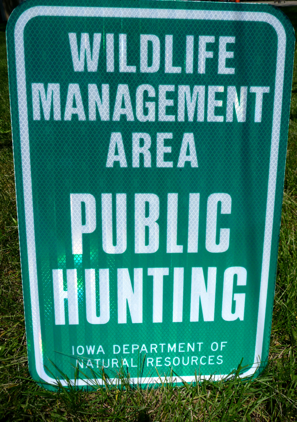 Find public land for hunting: Iowa DNR Wildlife Management areas